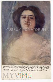 Pstrak - Kobieta - 1912