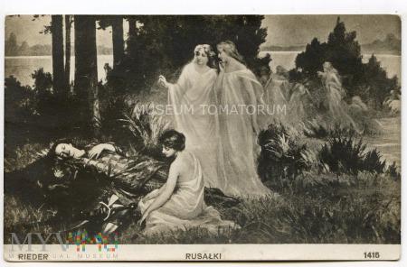 Rieder - Rusałki - 1914