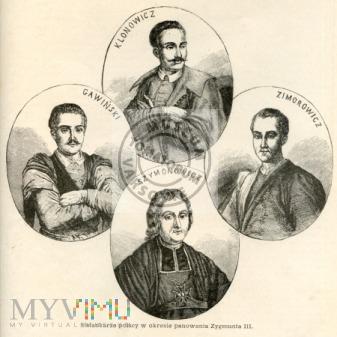 Gawiński, Klonowicz, Zimorowicz, Szymonowicz