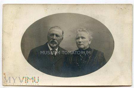 Stare zdjęcie małżeńskie - 1924