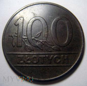 100 zł 1990 r. sto złotych