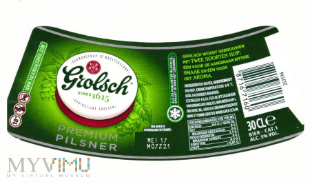 Duże zdjęcie Grolsch premium