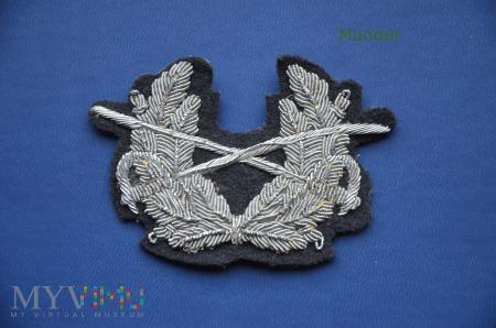 Bundeswehra: oznaka haftowana na czapkę