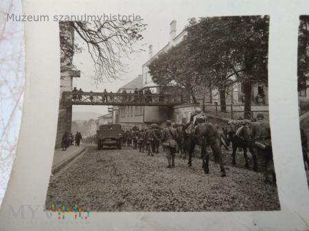 niemiecka piechota górska w Gorlicach 1939