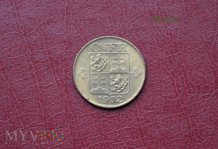 Moneta czechosłowacka (CSFR): 1 korona
