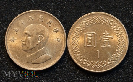 Datowanie monet tajwan