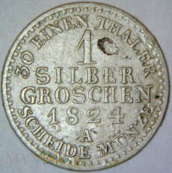 Fryderyk Wilhelm III 1797-1840-1 GROSCHEN 1824