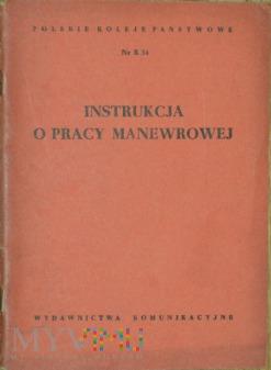 Duże zdjęcie 1956 - Nr R 34 Instrukcja o pracy manewrowej