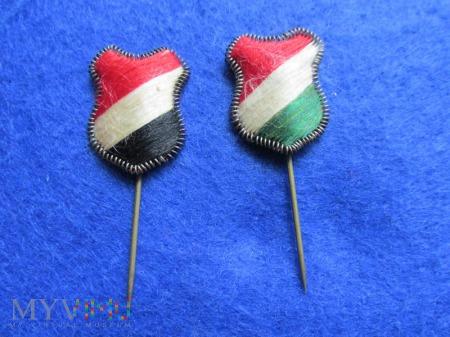 Miniaturki,odznaki patriotyczne