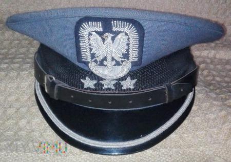 Czapka garnizonowa porucznika lotnictwa LWP