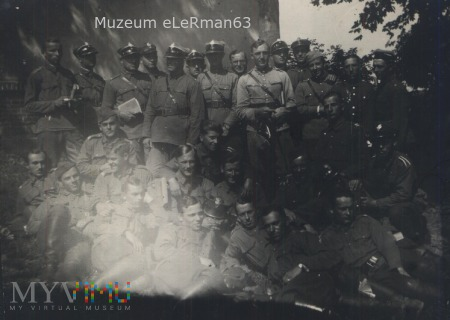 Ćwicz.oficerów rez. 10 PAC .Pikulice lipiec 1932r.
