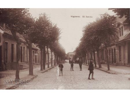 Wągrowiec ulica Szeroka