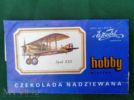Duże zdjęcie CZEKOLADA WEDEL HOBBY B.012