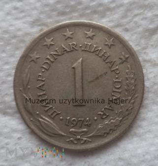 Duże zdjęcie Jugosławia - 5 dinar - 1974 rok