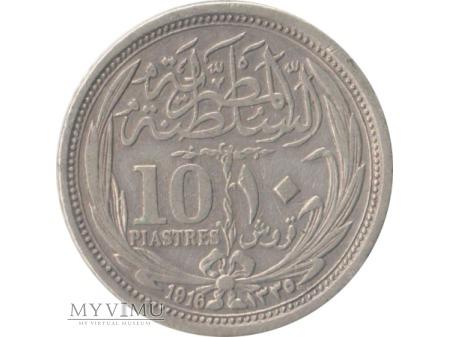 10 piastórw 1916 rok
