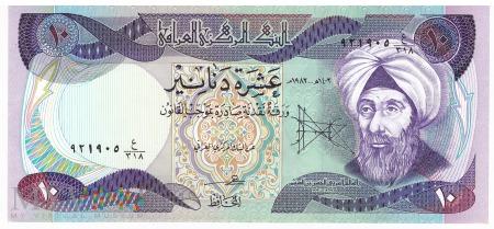 Irak - 10 dinarów (1982)