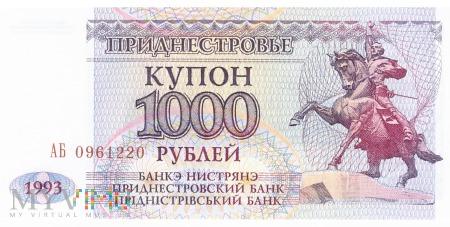 Mołdawia (Naddniestrze) - 1 000 rubli (1993)