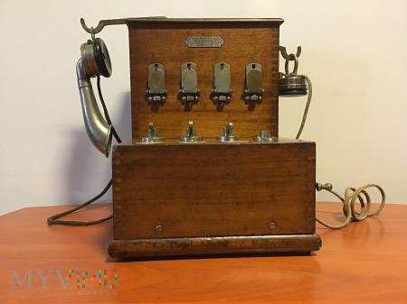 francuska biurkowa centralka telefoniczna,