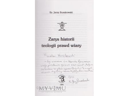 List i książka od Ks. Inf. Jerzego Buxakowskiego