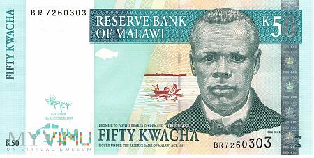 Malawi - 50 kwacha (2009)