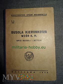 Duże zdjęcie Busola kierunkowa wzór K.M. Opis busoli i użycie