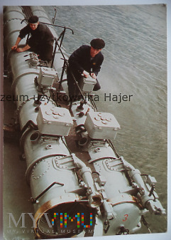 Kuter torpedowy - kartka pocztowa