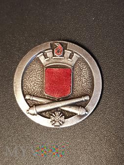 Pamiątkowa odznaka 15 Pułku Artylerii _ Francja/1