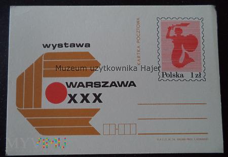 1974.IX - XXX Wystawa Warszawa
