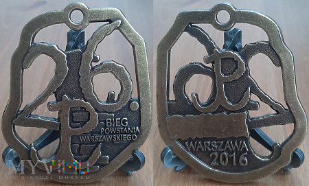 292. 26 Bieg Powstania Warszawskiego 2016