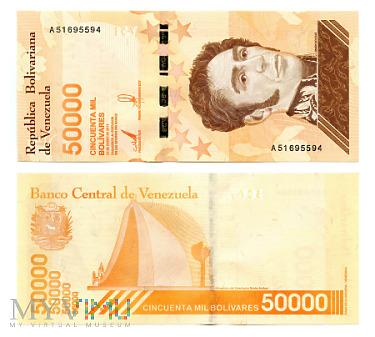 50 000 Bolívares Soberano 2019 (A 51695594)