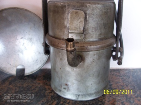 LAMPA GÓRNICZA KARBIDOWA- TYP 850zfe - 1955 rok