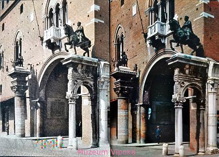 Ferrara - Niccolò III d'Este (2 wersje)
