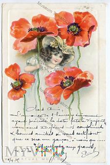 Pocztówka artystyczna 1905