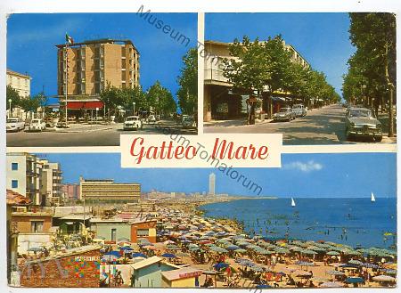 Gatteo Mare - wielowidokowa - 1970