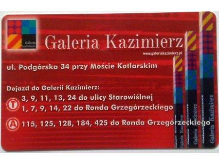 Bilet MPK Kraków 47