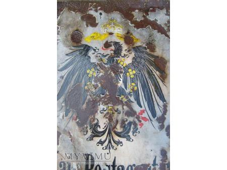 Duże zdjęcie Stary szyld pocztowy