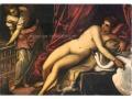 Tintoretto - Leda z łabędziem