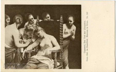 Cagnacci - Śmierć Kleopatry