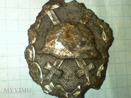 odznaka za rany srebrna