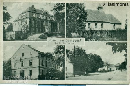 Damianowo-Gruss aus Damsdorf kreis Neumarkt