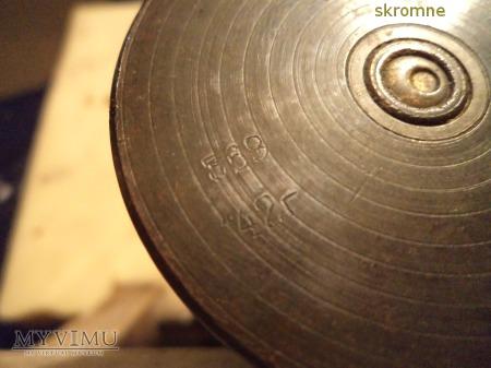 lampa olejowa przykład sztuki okopowej