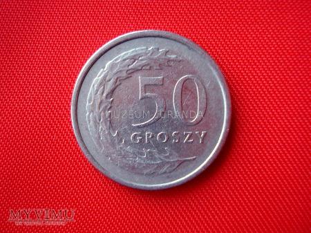 50 groszy 1990 rok