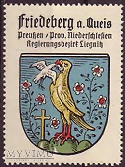 Znaczek z herbem Friedeberg a/Qu.