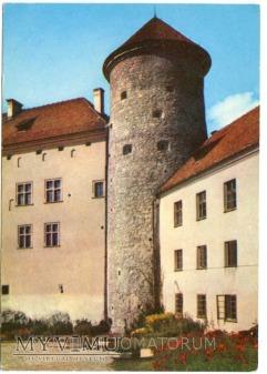 Pieskowa Skała gotycka baszta - 1969 r.