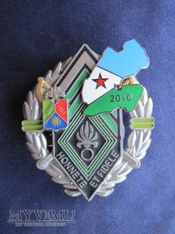Odznaka 1REC BCH/Dżibuti 2010