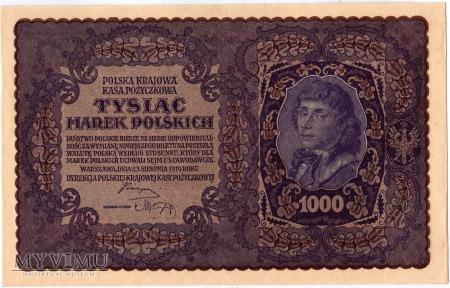 23.08.1919 - 1000 Marek Polskich