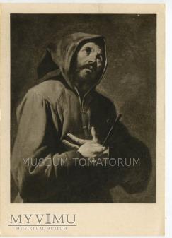 Reni - Monk zakonnik św. Franciszek - modlitwa