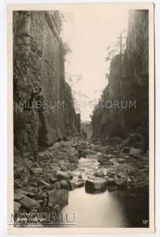Karkonosze - Wąwóz Kamieńczyka Zackelklamm 1930