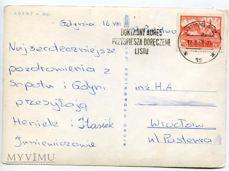 Sopot molo - 1962