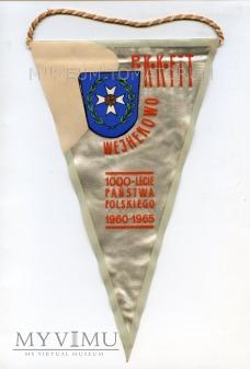 Proporczyk PKKFiT - 1965